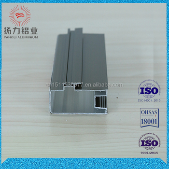 Custom 6063 aluminium casement window section profile