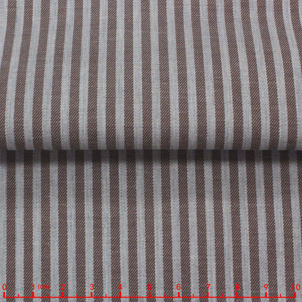 leftover stock twill stripe cotton fabric