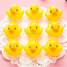 Mini baby swinming water toys bath rubber Toys can knead rang duck toy