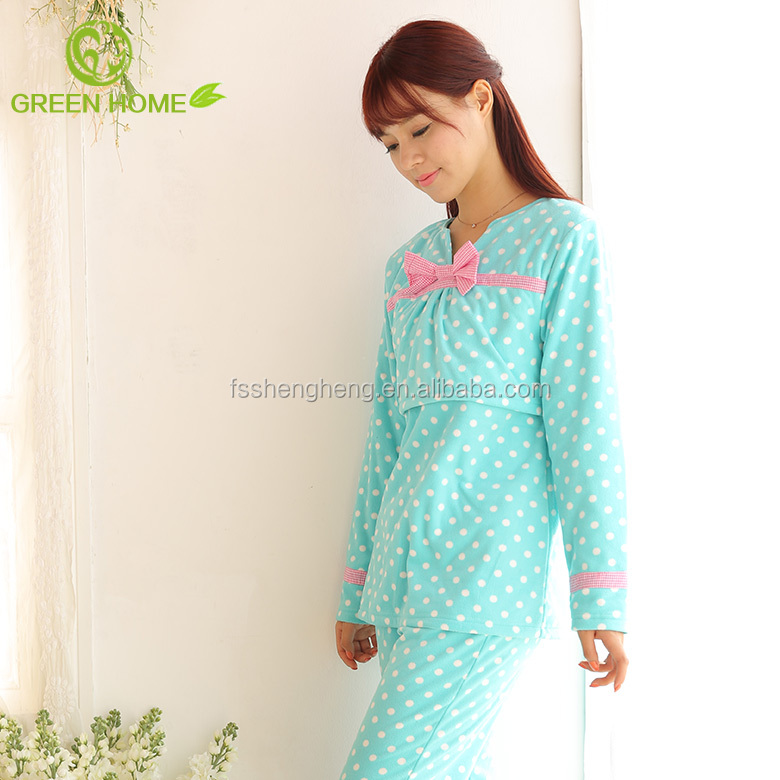 young mother trendy cotton sleepwear pajamas for girls