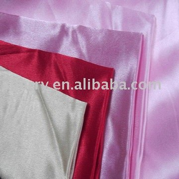 Best selling 100% polyester back crepe satin plain dyed fabric in Chinese factory's newest fabric