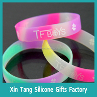 Excellent quality silicone usb bracelet/bracelet for men/women/chirdren