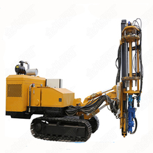 remote control bore hole drilling machine used for tunnel construction