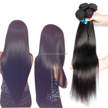 Large Stock! 6A 7A 8A Brazilian Human Hair Extension Weaving, Double Drawn Human Hair Weft, Straight Human Hair Extension