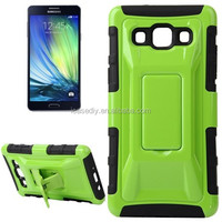 Fashionable Cool and Detachable Racing Car Form Combination Case with Holder and Hand Strap for Samsung Galaxy A7