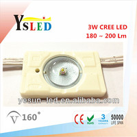 Ultra brightness 3W CREE LED module / high power LED module / LED backlight module