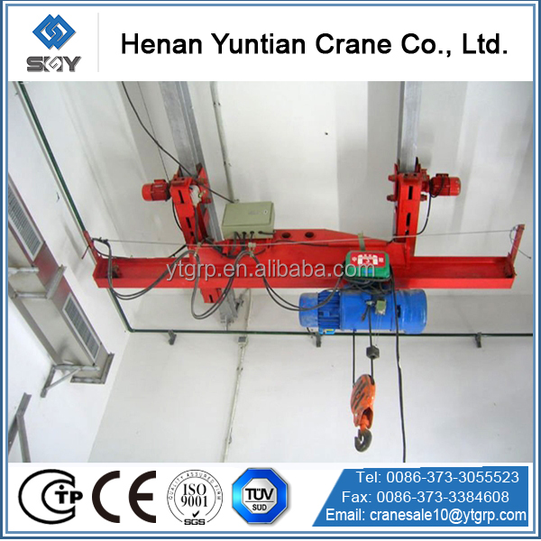 Manual Operational Single Beam Crane 1t