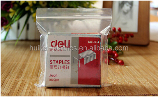yiwu futian market manufacturer bolsas plasticas zip lock bag for document bag