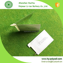 104496 220mAh 1mm Thickness Lipo 3.7v Ultra Thin Battery