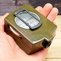 US Military Lensatic Sighting Compass with Magnifier and Gradienter