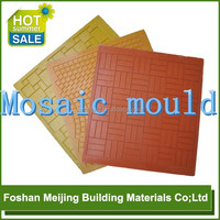 moulds for paving stones crystal mosaic