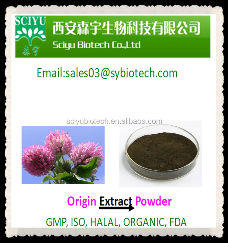 Women Health Product Red Clover Powder 40% Isoflavones