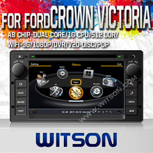 WITSON AUTO CAR DVD GPS FOR FORD CROWN VICTORIA 2008-2012 WITH 1.6GHZ FREQUENCY 1080P 1G DDR RAM 8GB FLASH CAPACTIVE SCREEN