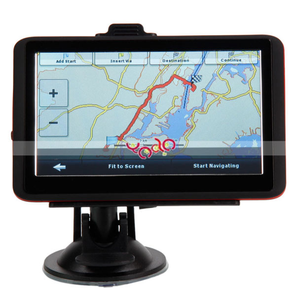 "5""Inch LCD HD Touch Car GPS Navigation with USA Canada and Mexico Map"