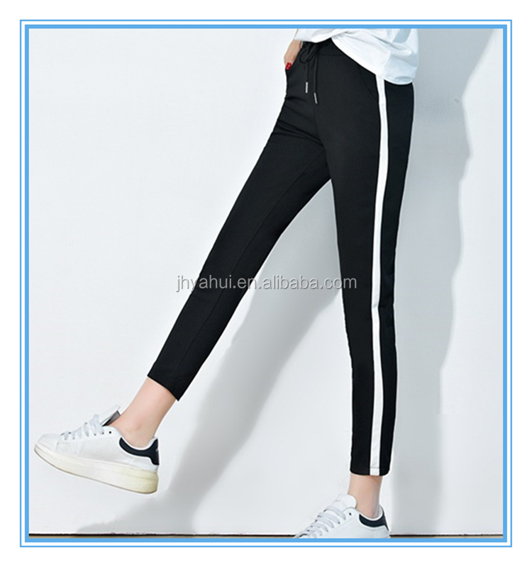 Girls workout casual skinny pants slim harem pants