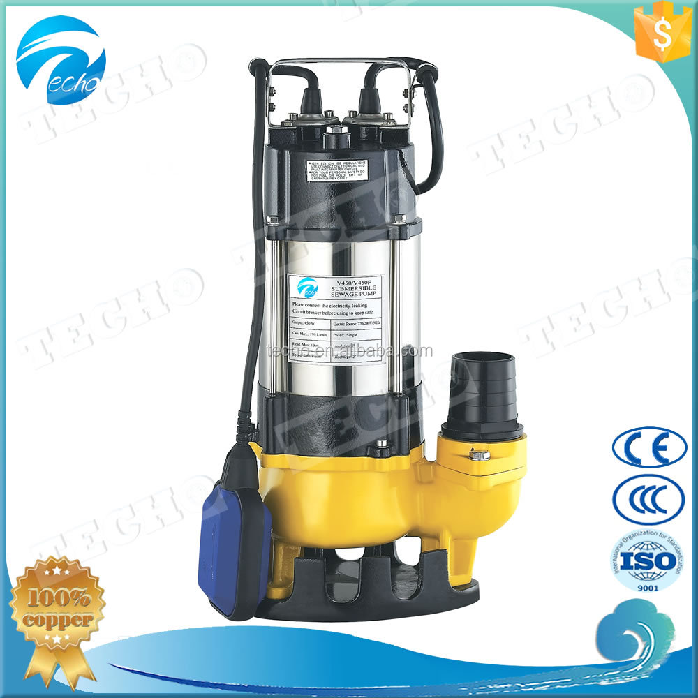 Float Switch Submersible Sewage Pump
