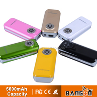 Emergency manufacturer wholesale harga power bank 5600mah best power bank 5600mah power bank