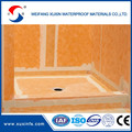 Eco friendly waterproofing membrane sheet for shower system