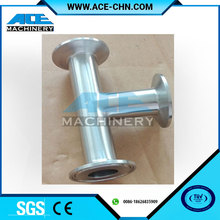 GB/ JB/ HGL/SHL/ANSI/ASME Stainless Steel Pipe FittingsSanitary Equal Tee / Coupling