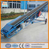 Portable steel conveyor belt with electric motoe and low price