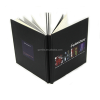 custom cheap coloring sewing binding hardcover book printing yellow page printing