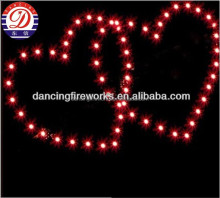 heart shape Professional Display Shells Fireworks for Pyrotechnics wedding items
