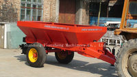 chicken manure fertilizer spreader tractor trailed manure spreader