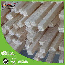 Square balsa high quality hot sale wholease balsa wood stick