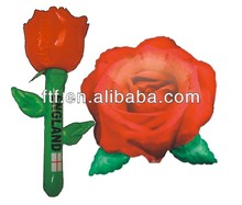 inflatable rose/beautiful inflatable rose flower for wholesale