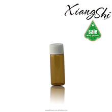 amber ampoule glass bottles for tablet with plastic/aluminum cap