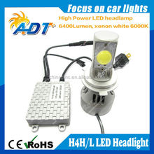 New Product H4 Hi/Lo Beam Auto Car LED Headlight Kit, 80w 6000 Lumen Super Canbus Special for Brand Car Light