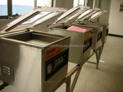 dz400 vacuum sealer easy move plastic packaging machine with CE certificate