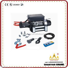 DC 12or24V Electric Wire Rope & Synthetic Rope Winch