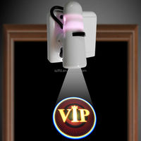 home decoration led welcome light/3d logo projector led lighting,Newest patent model party supply led projector light