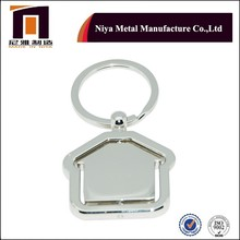 House shape Rotating Key Chain,key chain for Business Promotional