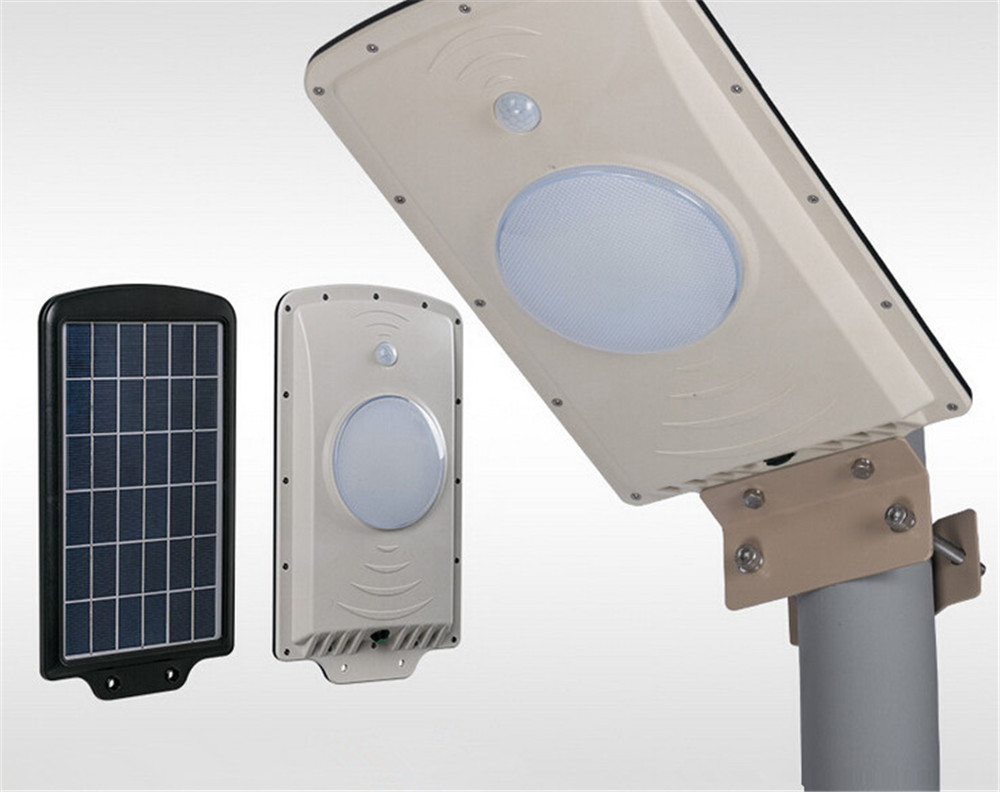 800LM All in one Integrated 6W Solar LED Street Garden Outdoor solar Motion Sensor street LED Light