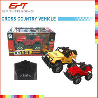Hot selling kids funny radio control car toy rc jeep toy for sale