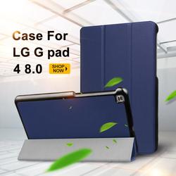 for 2017 new release for LG Gpad4 8.0 P530 tablet PU leather cover case for LG G PAD 4 8inch protective cover skin