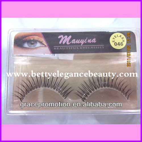 Beautiful Eyelashes/False Eyelashes with Gold Line BEB-Y16