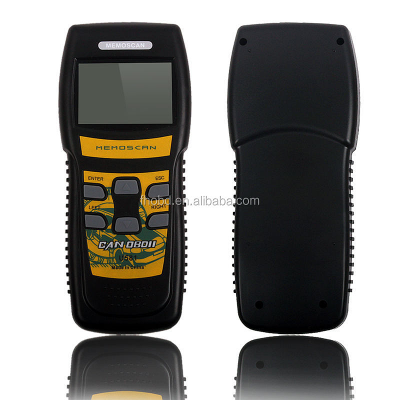 OBD2 Live Data Diagnostic Tool U581 OBD2 EOBD Scanner Can-Bus Code Reader Memoscan U581 Scanner