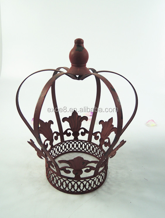 French style Christmas gift decorative metal crown