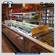 supermarket commercial deep freezer of island double type used for frozen food