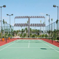 Sport elastic court surface volleyball flooring