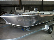 13ft 3mm All Welded V Type Small Aluminum Fishing Boat