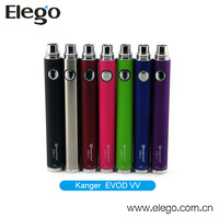Hottest Selling Original Kanger EVOD VV Battery with Large Capacity 1300mAh & 1600 mAh