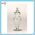 Unique Competitive Price Glass Screw top large fancy glass candy jars buffet