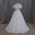 M803 Special design of wedding dress lace up back bridal gowns M803