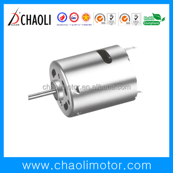 24v brushed dc motor CL-RS360SH for massager vibrator high torque