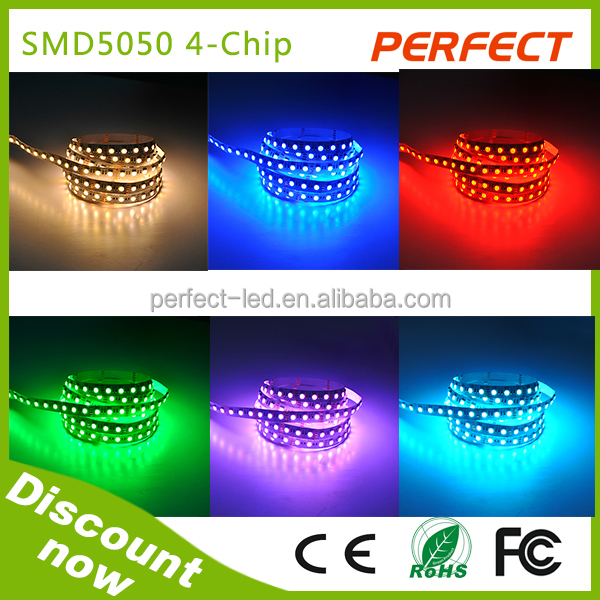 alibaba express!4 chip in 1 led! led lamp,12V 5050 smd 300leds led strip rgbw lighting led for decration