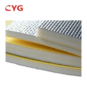 Hvac air duct foam board insulation hvac XPE PE FOAM